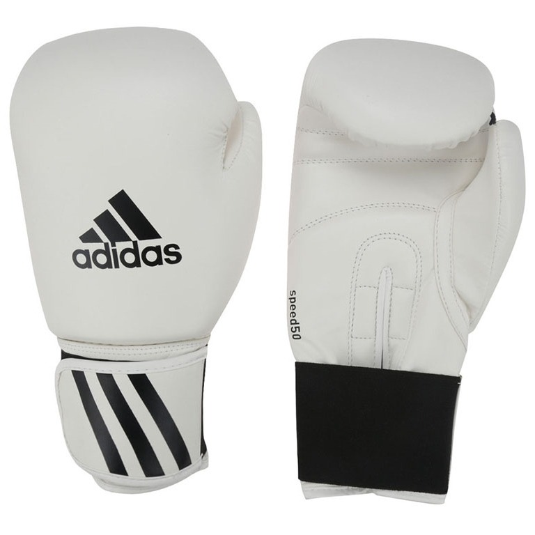 8335f07f9 luvas de boxe speed 50 adidas - branca - 14oz