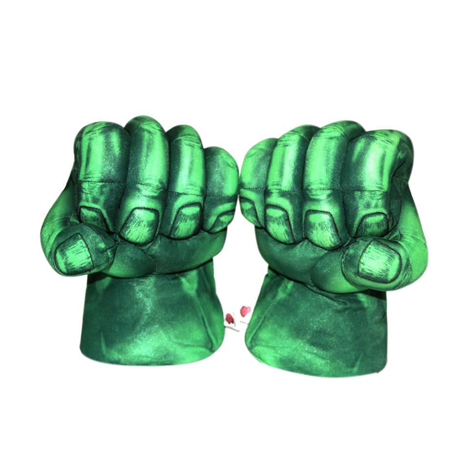 Luvas Punhos Do Hulk De Pelucia Apenas Uma Mao 33cm R 32 27