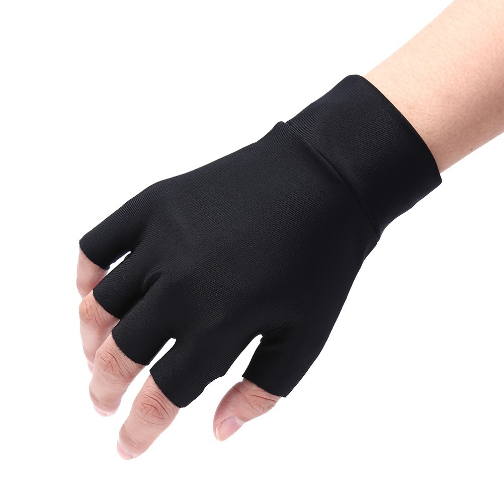 luvas sem dedos artrite alívio dor terapia compressão. Carregando zoom. 8411c2fae95