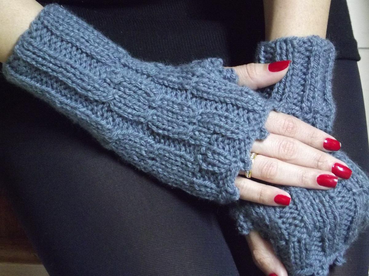 luvas sem dedos em tricot. Carregando zoom. 05a18595d62