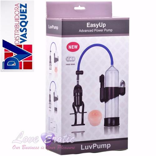 luvpump potente ereccion bomba de alargamiento y grosor