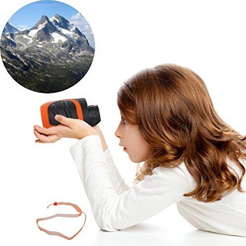 luwint 8 x 21 binoculares para niños para observación de a