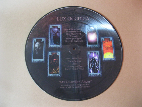 lux occulta - my guardian anger - lp