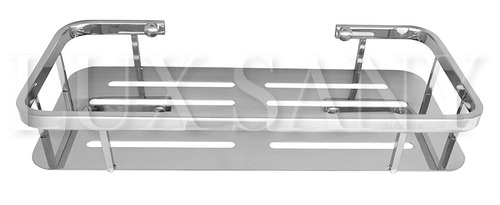 lux sany bf-t3 repisa rectangular acabado brilloso cromado