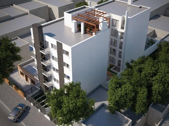 luxar park. monte caseros. terraza con parrillero
