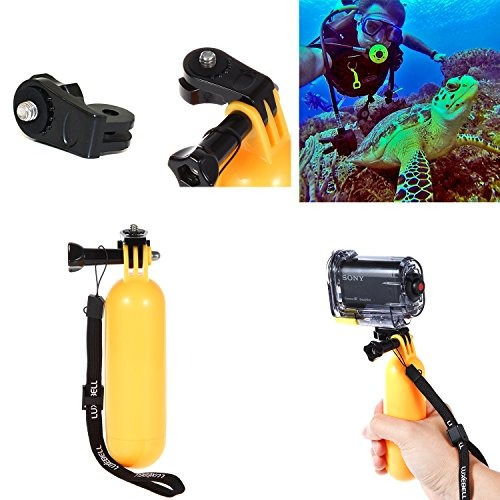 luxebell accessories bundle kit para sony action camera hdr-