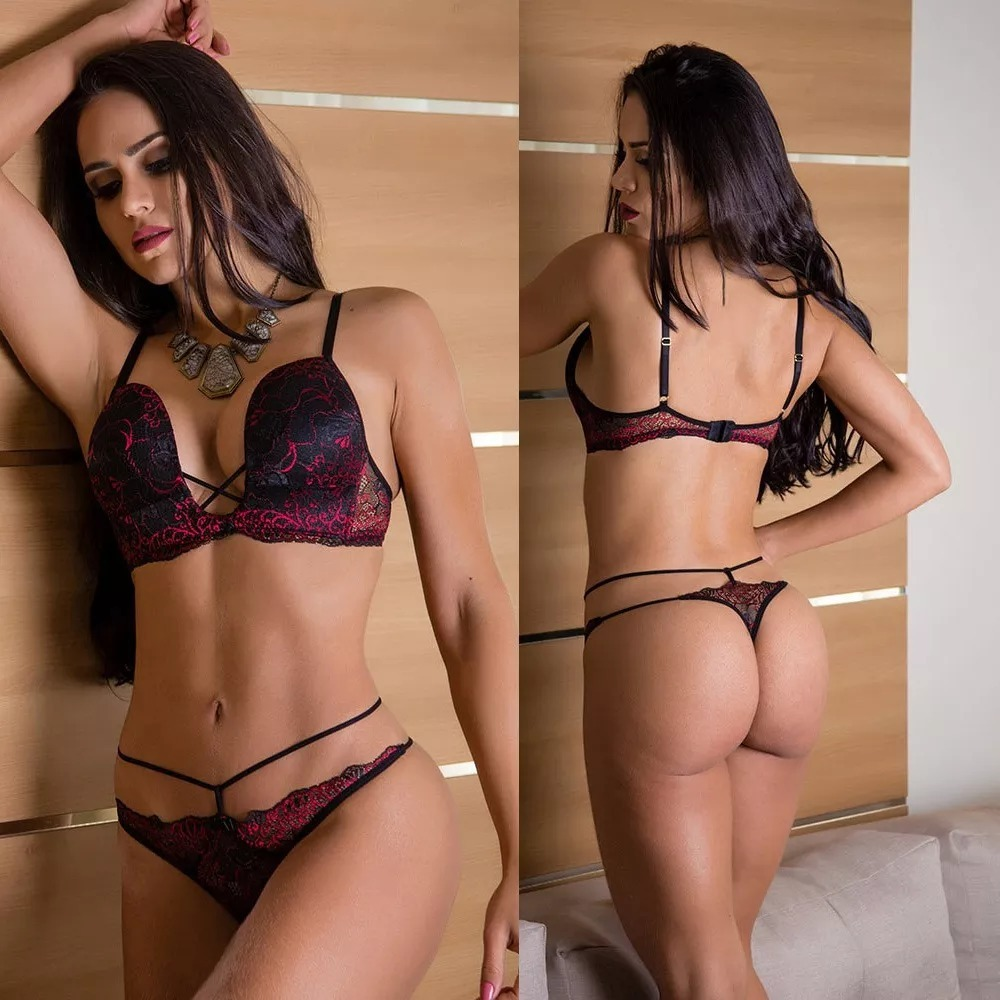409324d52 Luxo Lingerie Conjunto Lua De Mel Casamento Noiva Sexy Bojo - R  84 ...