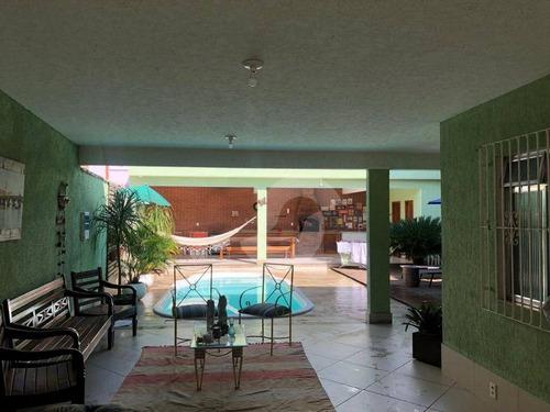 luxuosa casa linear de 3 quartos e piscina, no rocha, são gonçalo. - ca1478
