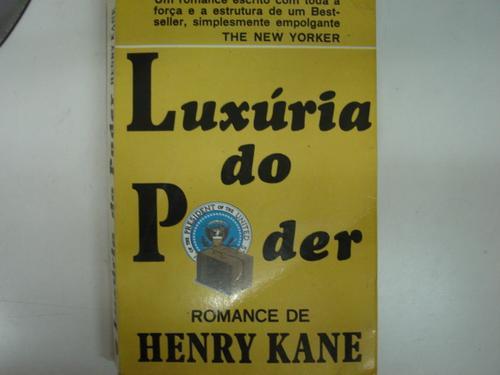 luxúria do poder  henry kane k1