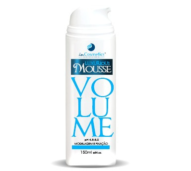 luxurious mousse in cosmetics