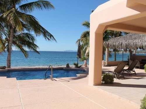 luxury beachfront house