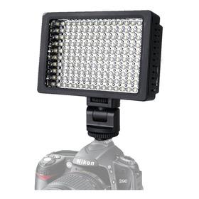 Luz 160 Led Para Fotografia Video + 4 Filtros Para Youtuber