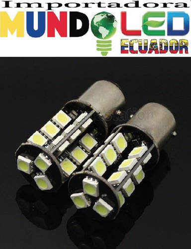 luz 5050 smd  led stop freno blanco 12v flash