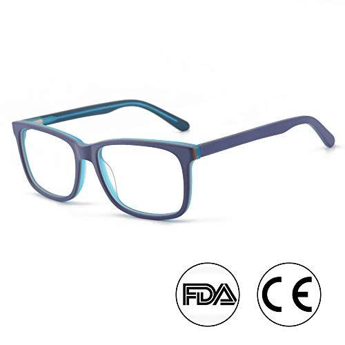 luz azul bloqueo anteojos  computadora anteojos para sueño p