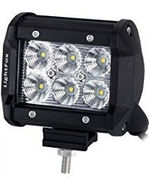 luz blanca led halogenos moto carro 18w 3 pulgadas 12v 24v*
