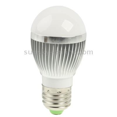 luz bola steep bombilla led 3w ahorro energia esferico tipo