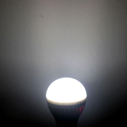 luz bola steep bombilla led bulbo recargable emergencia cr