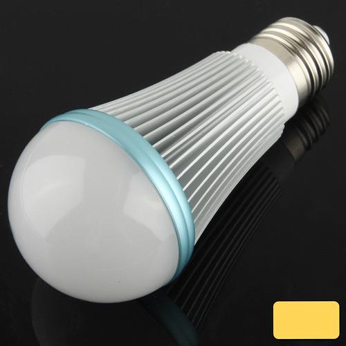 luz bola steep bombilla led e27 7w lampara blanca azul