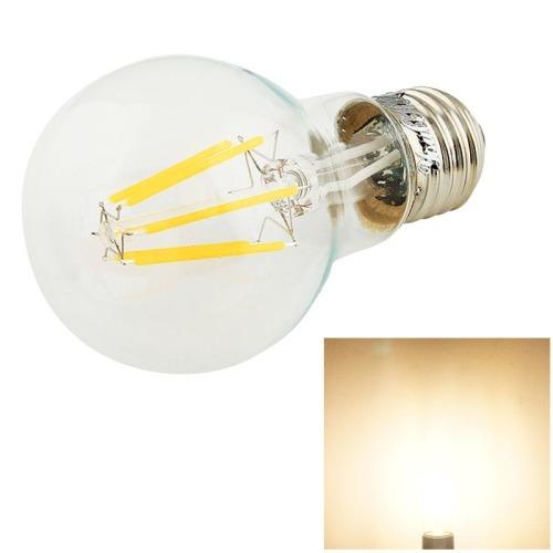luz bola steep retro youoklight e27 580lm 6 cob led blanco