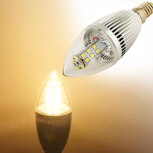 luz bola steep vela youoklight lm blanco led bulbo ac 5 5