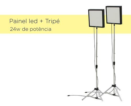 luz continua you tube gravar vídeos barato