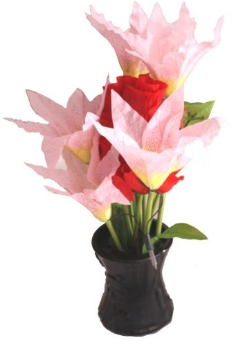 Luz Creativa De Flores En Movimiento Rosa 60900 En Mercado Libre