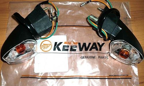 luz cruce delantera o trasera par moto rkv 200 empire keeway
