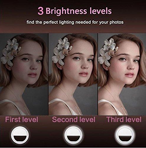 luz de anillo selfie, eleist luz led de anillo