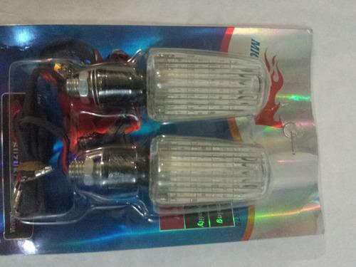 luz de cruce led universal para moto (precio por el par)