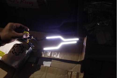 luz de dia tipo z barra de led cob 18w 600 lumens
