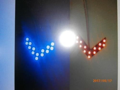 luz de direcional para espejos