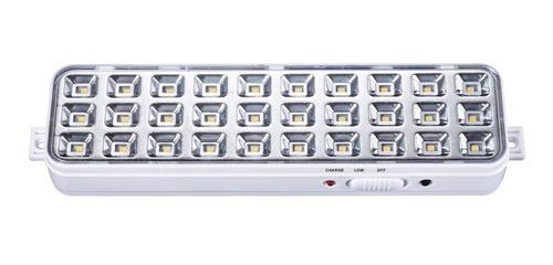 luz de emergencia 30 led om encendido automatico bateria lit