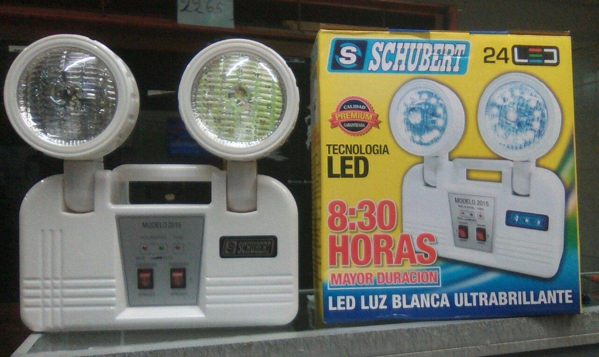 Luz de emergencia 8 30 horas 24 leds schubert s 58 00 - Luces emergencia led ...