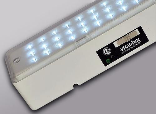luz de emergencia atomlux 2045 42 leds autonomia 30hs c