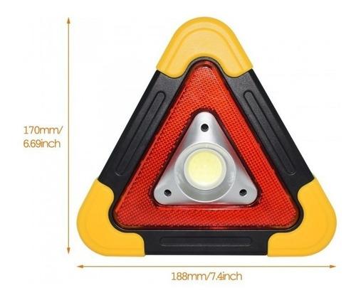 luz de emergencia carro recargable solar led 100% nuevo