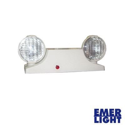 Luz de emergencia compacta tipo industrial blanca u s - Luz de emergencia precio ...