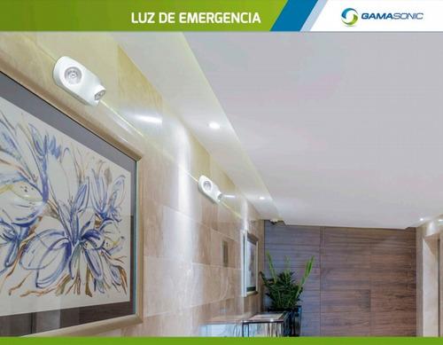 luz de emergencia frog gamasonic electricaboulevard