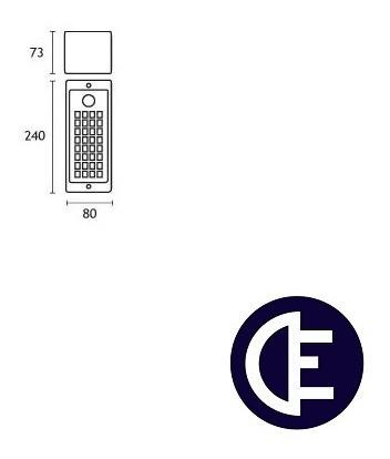 luz de emergencia gamasonic gx4040
