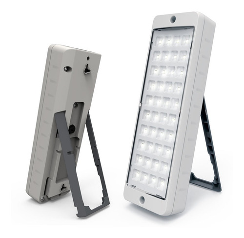 luz de emergencia gamasonic gx4040sl 40 leds