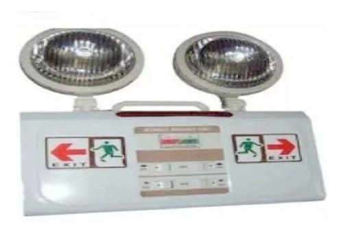 luz de emergencia led lámpara inspección bomberos