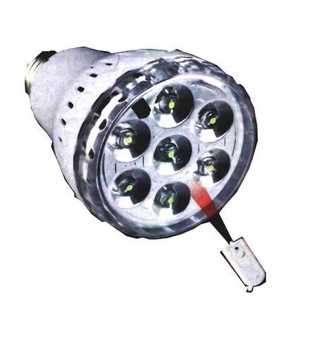luz de emergencia recargable led 7led 3.5w con control remot