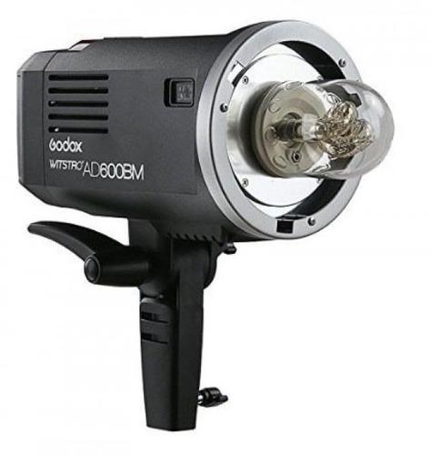 luz de estudio godox ad600bm con bateria