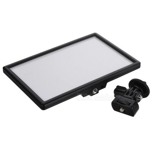 luz de fotografia filmagem led viltrox l116b ultrafino