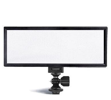 luz de fotografia filmagem led viltrox l132t ultrafino