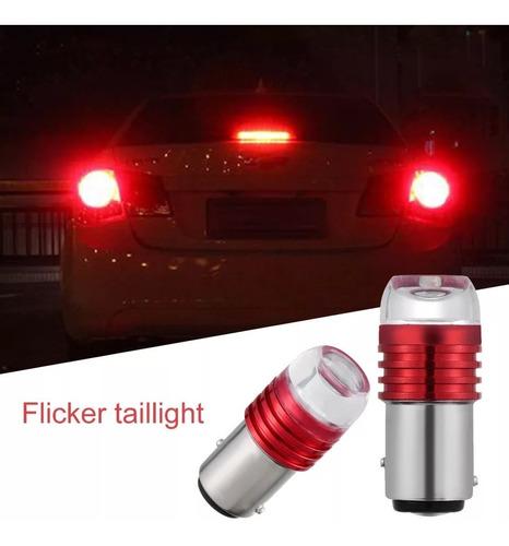 luz de freno led con flas para auto o camioneta mas potente