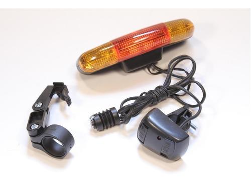 luz de giro para bicicleta posicion stop led jy-337 - racer bikes