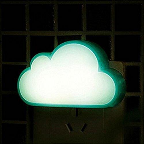 luz de la lámpara de noche led con sensor por ideas (azul