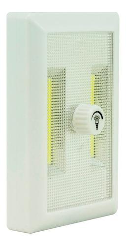 luz de led regulable a pilas. iman. blanca potente. la plata