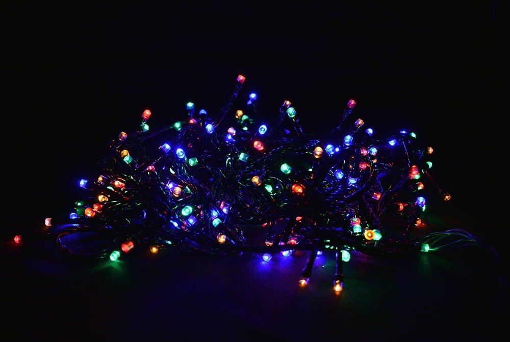 de31aa1400a Luz De Navidad Serie De 300 Focos Led Multicolor -   169.00 en ...