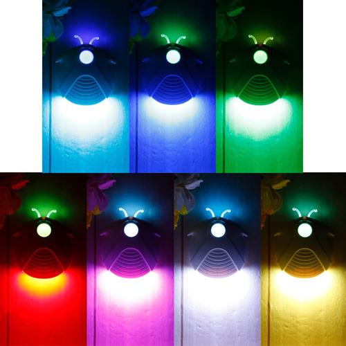luz de noche de inducción mz 004 diseño luciérnaga p/cuarto